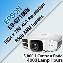 Projector EPSON EB-G7100NL